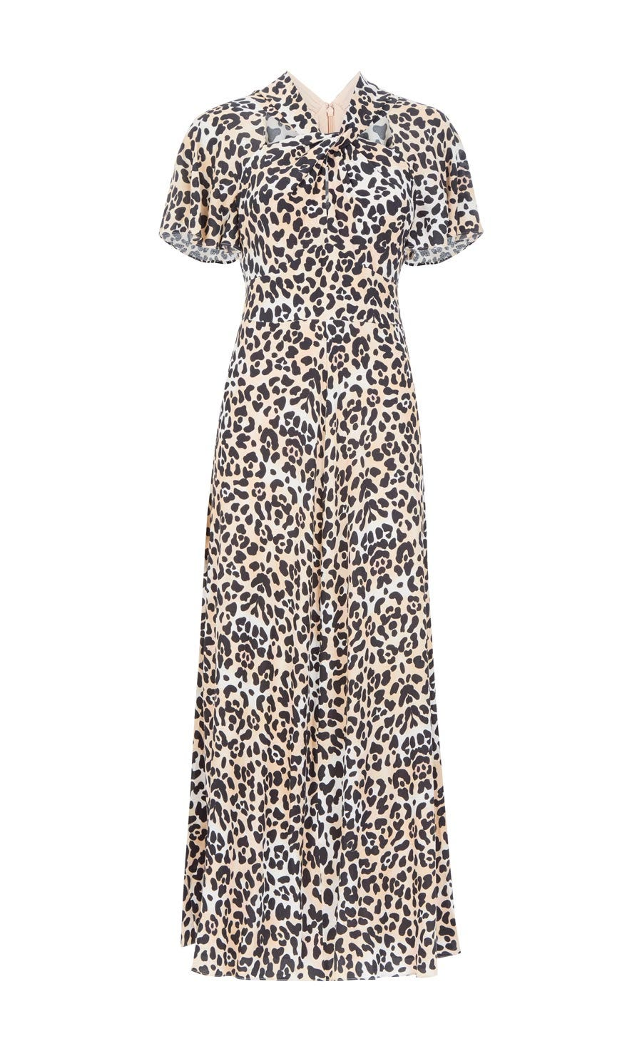 Wild Cat Midi Dress