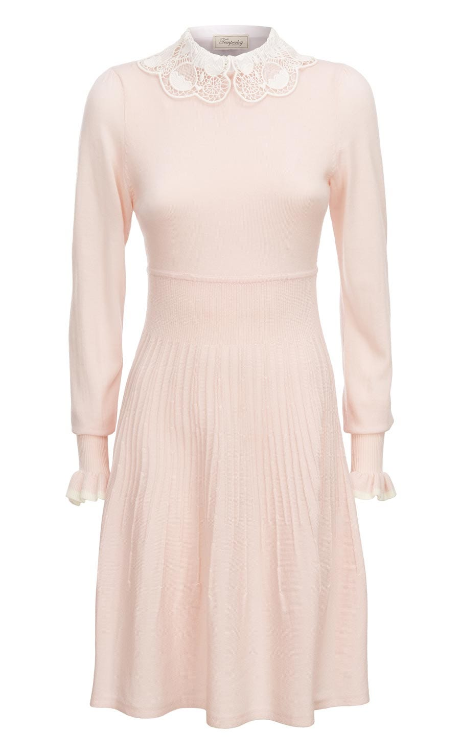 Bliss Sleeved Dress, Shell