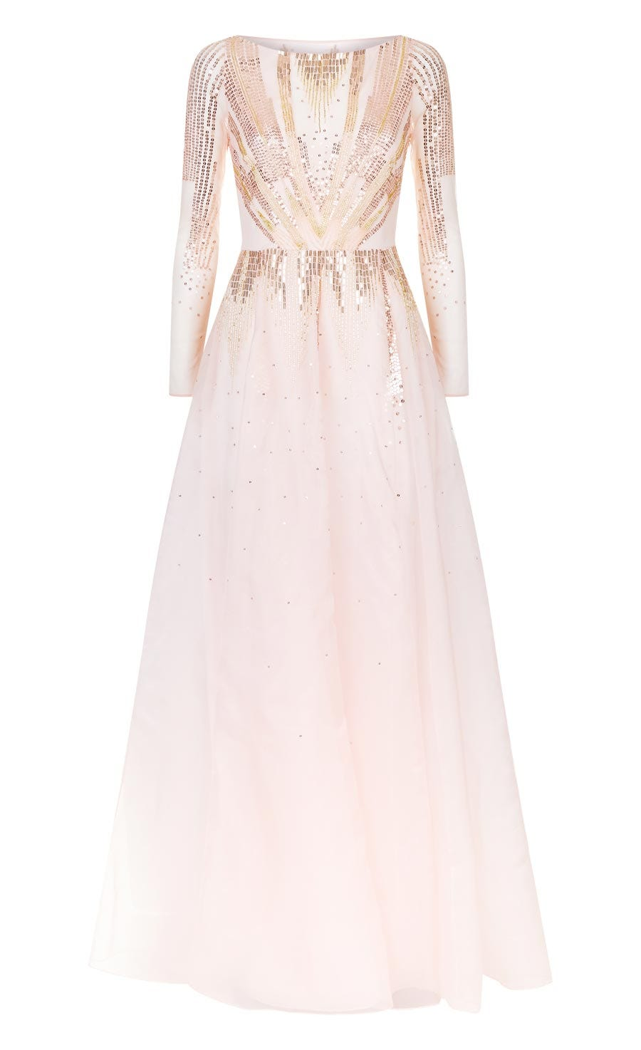 Mineral Long Dress, Shell