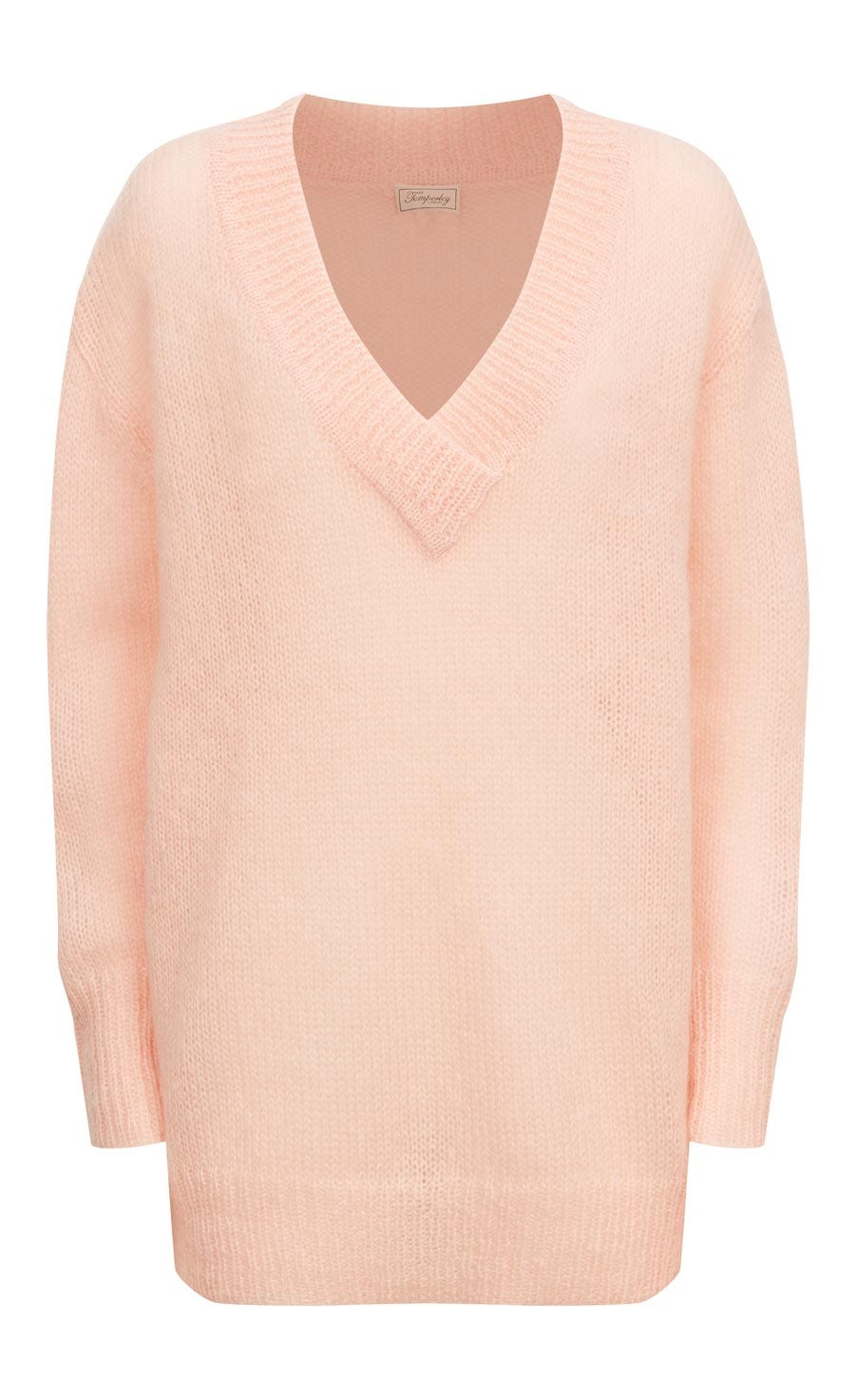 Iron V Neck Jumper, Shell
