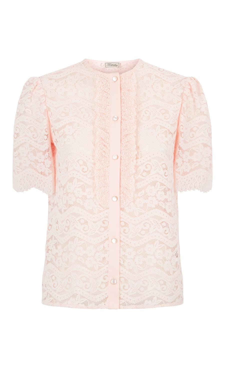 Lunar Lace Top, Shell