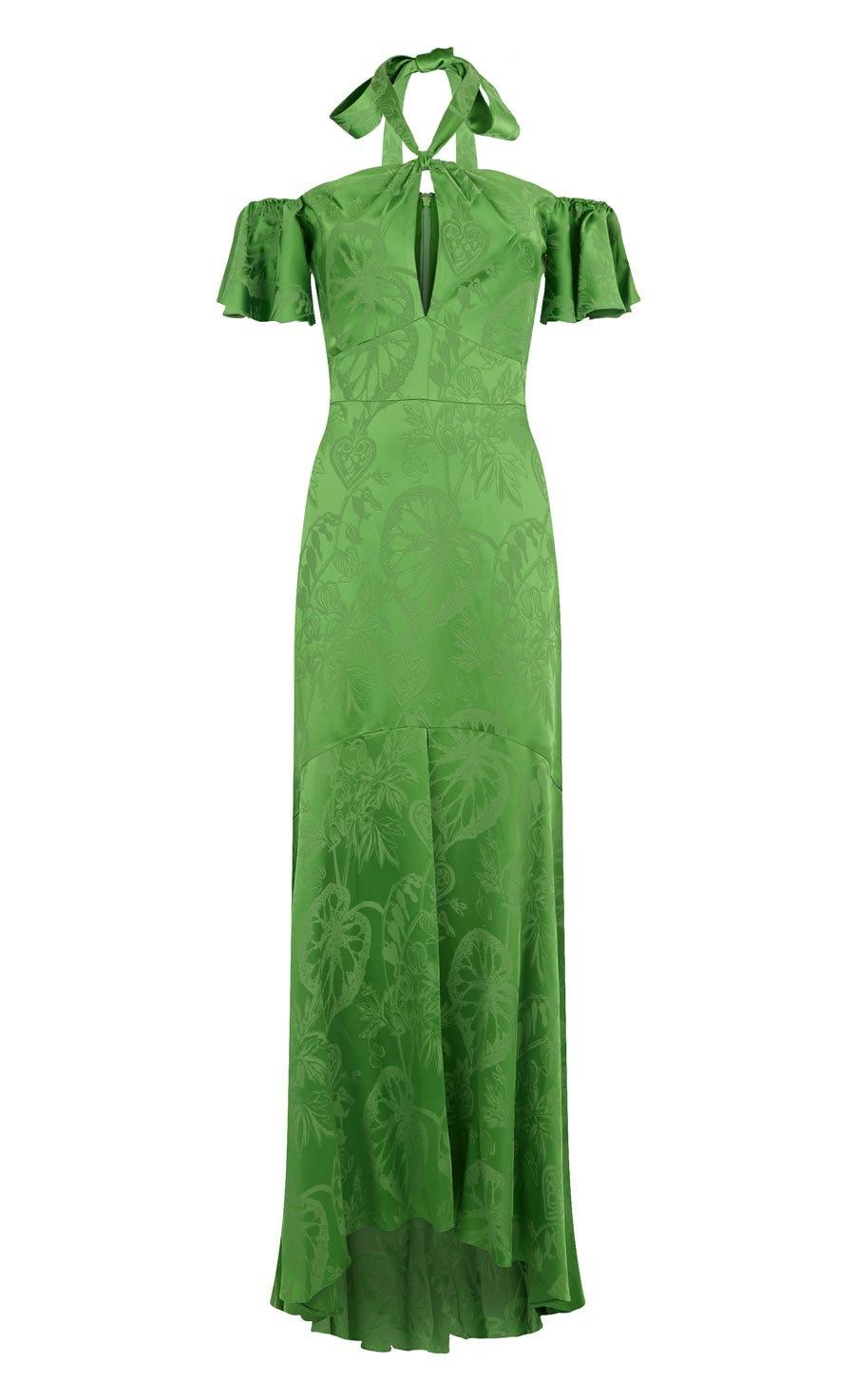 Orbit Dress, Absinthe