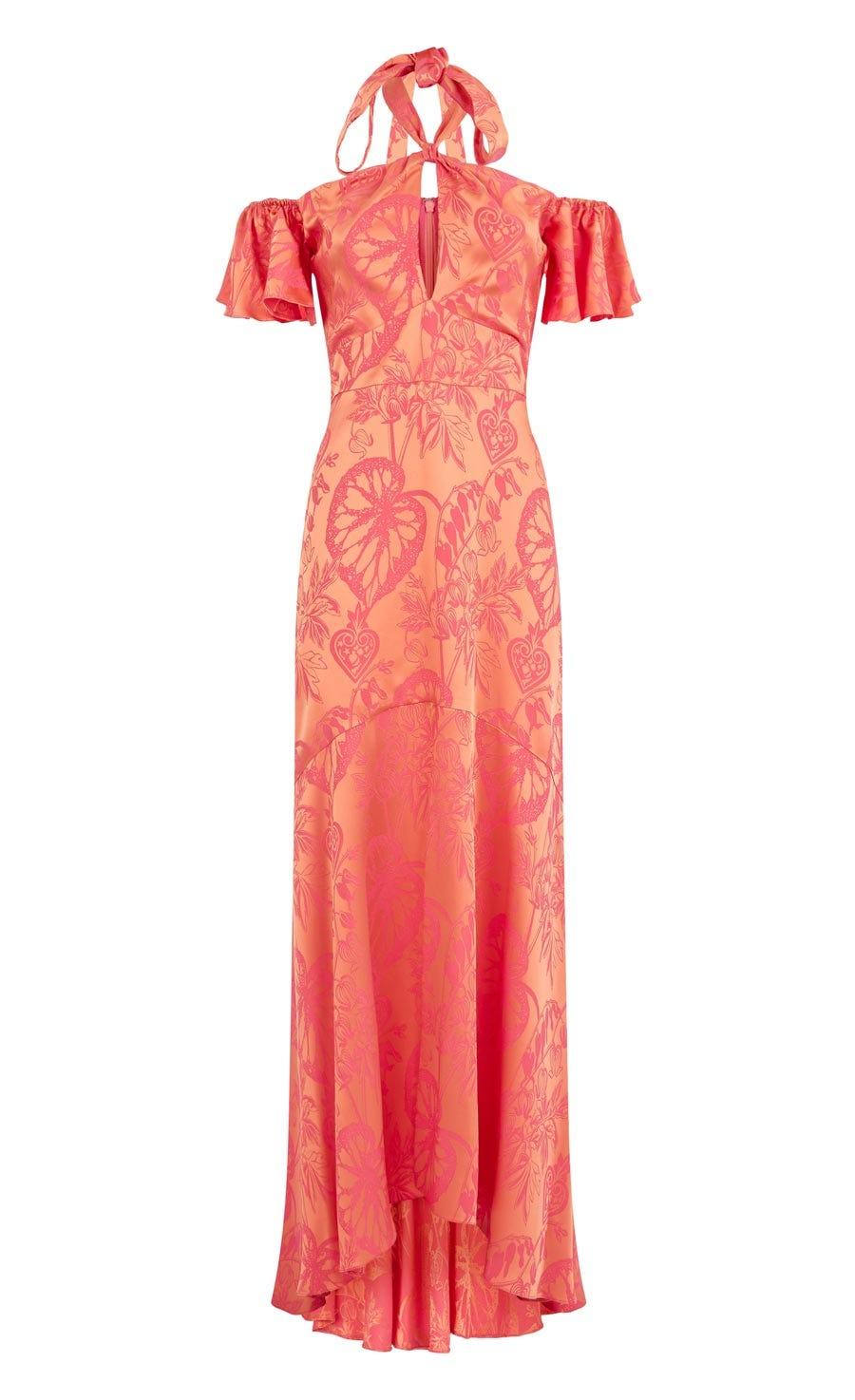 Orbit Dress, Fuschia Mix