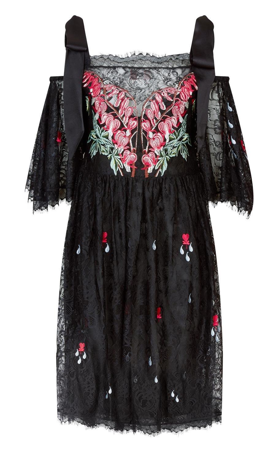 Potion Mini Dress, Black