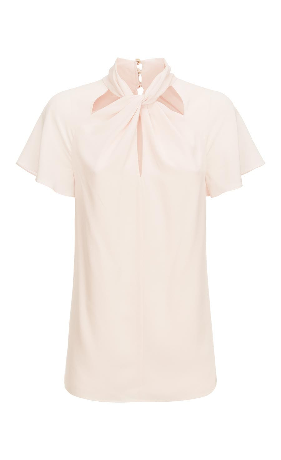 Purity Twisted Blouse, Shell