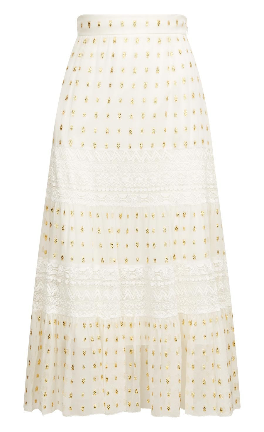 Wondering Lace Skirt, White