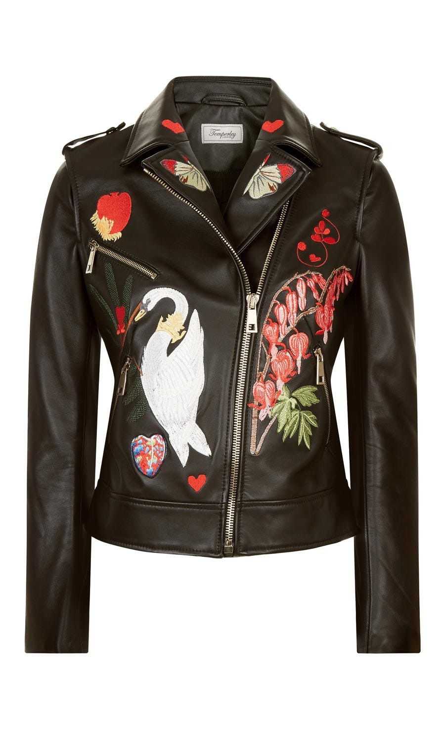 Elixir Leather Jacket, Black