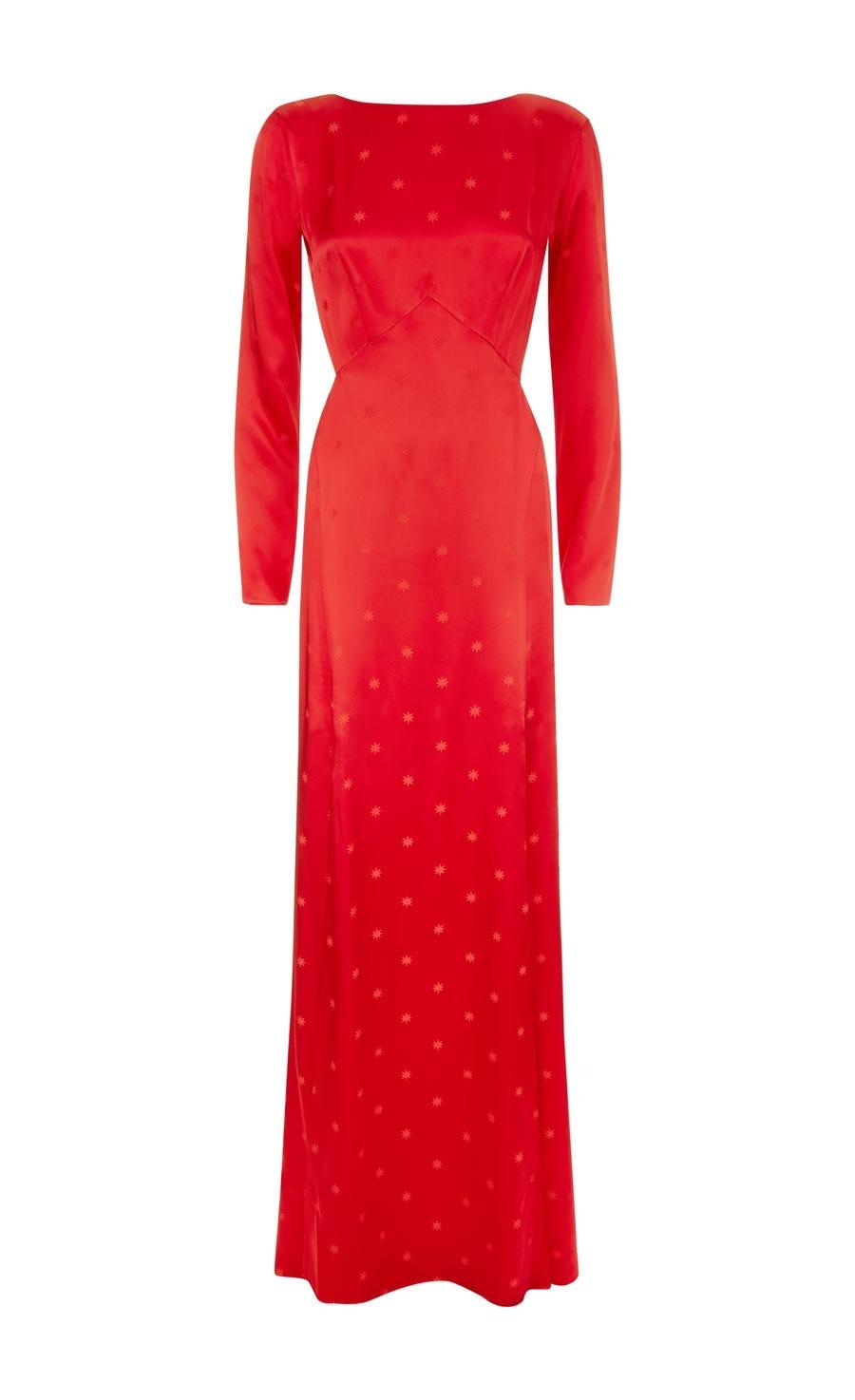 Betty Split Gown