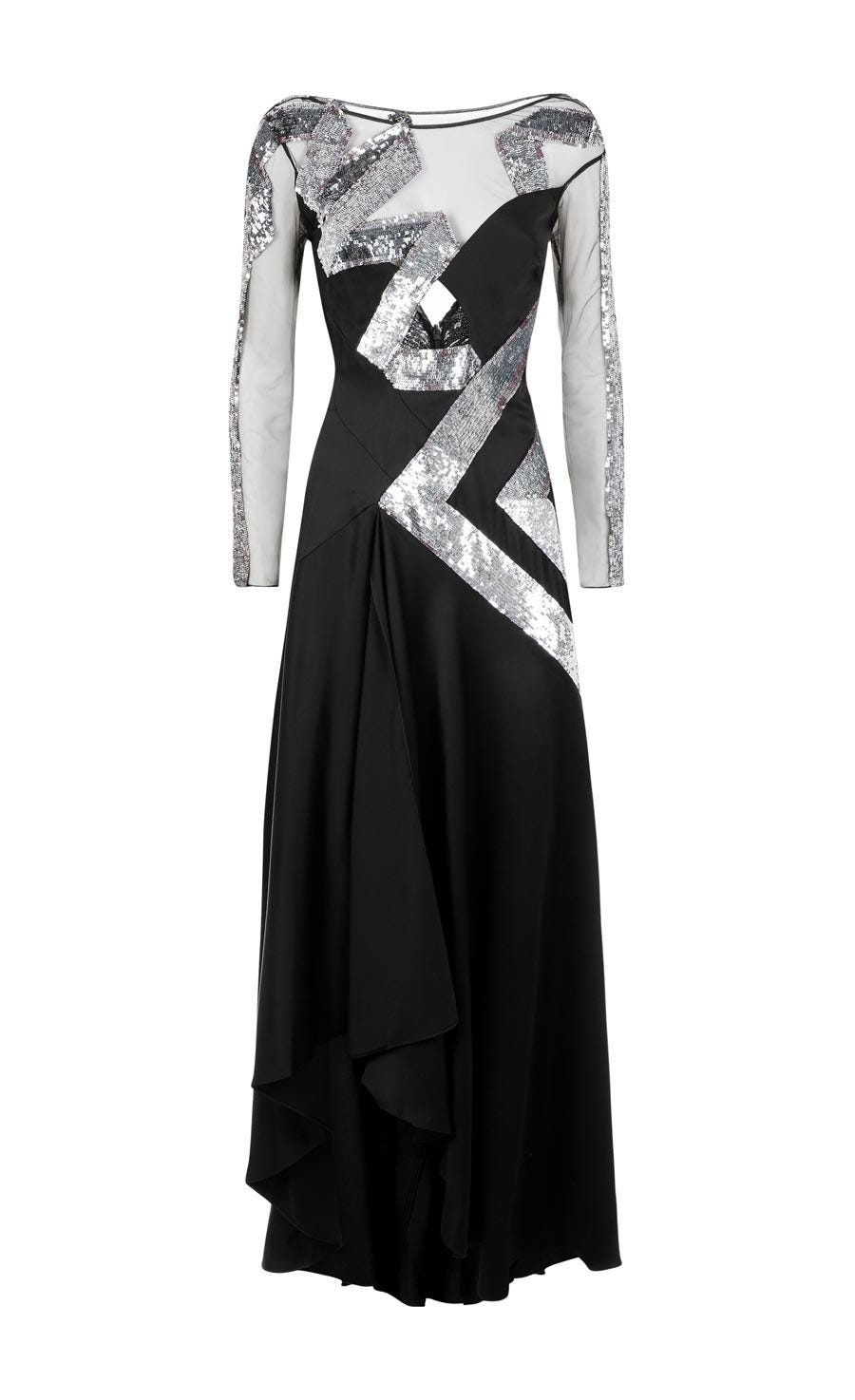 Insignia Sleeved Gown