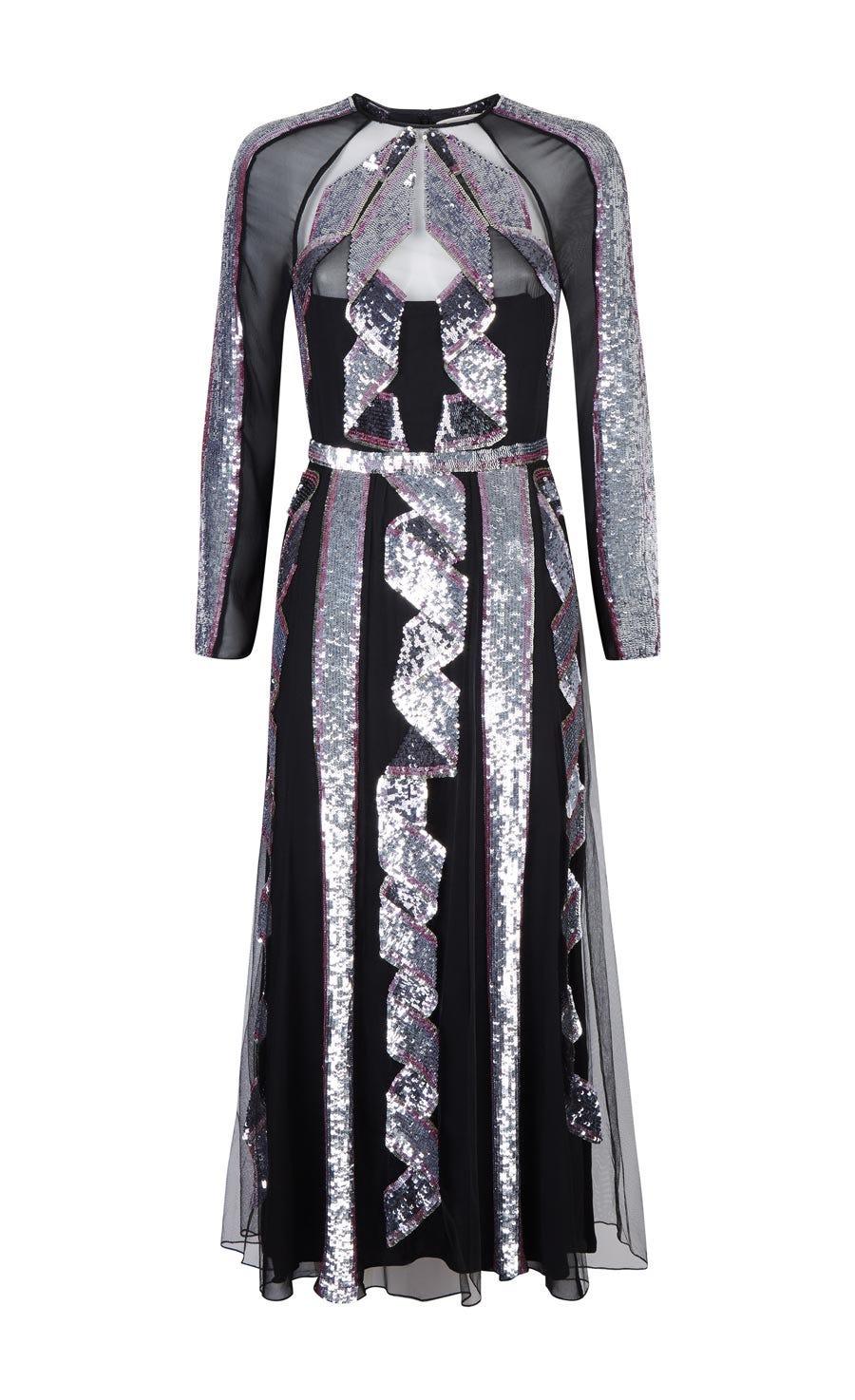Insignia Sequin Dress