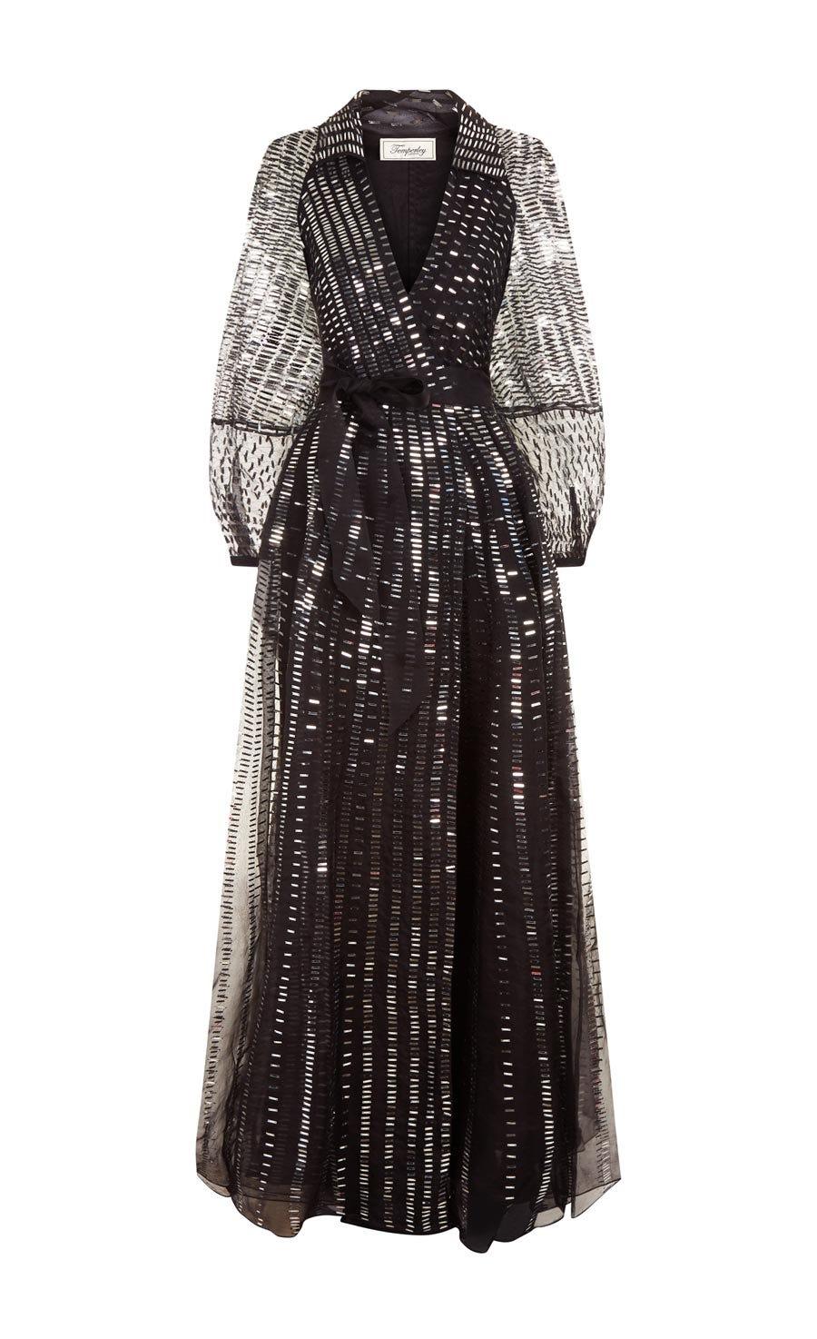 Jet Sequin Dress