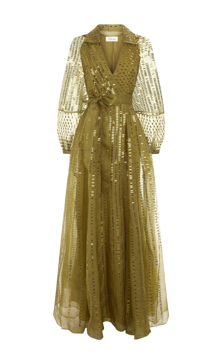 Jet Sequin Gown