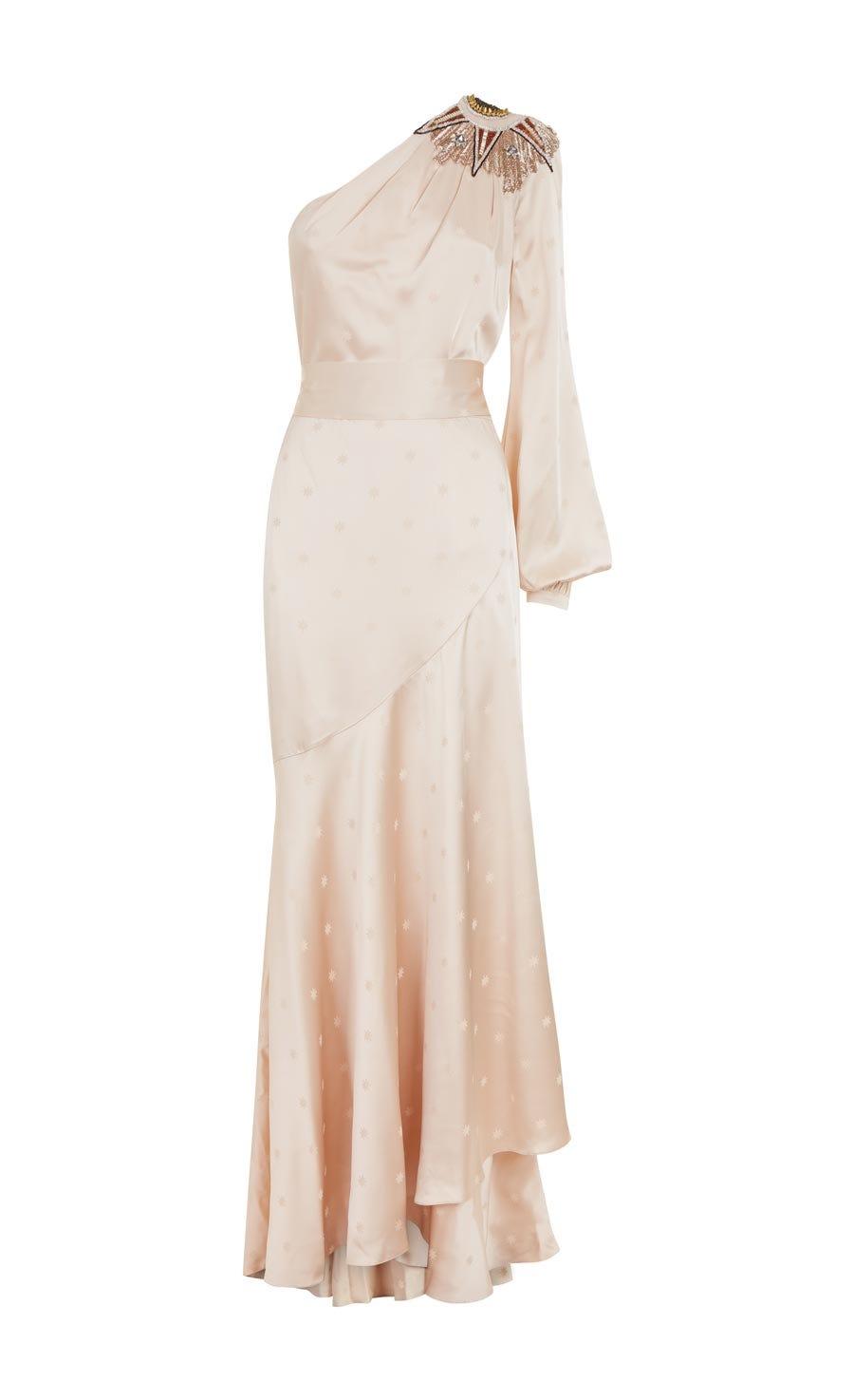 Parachute Asymmetric Gown