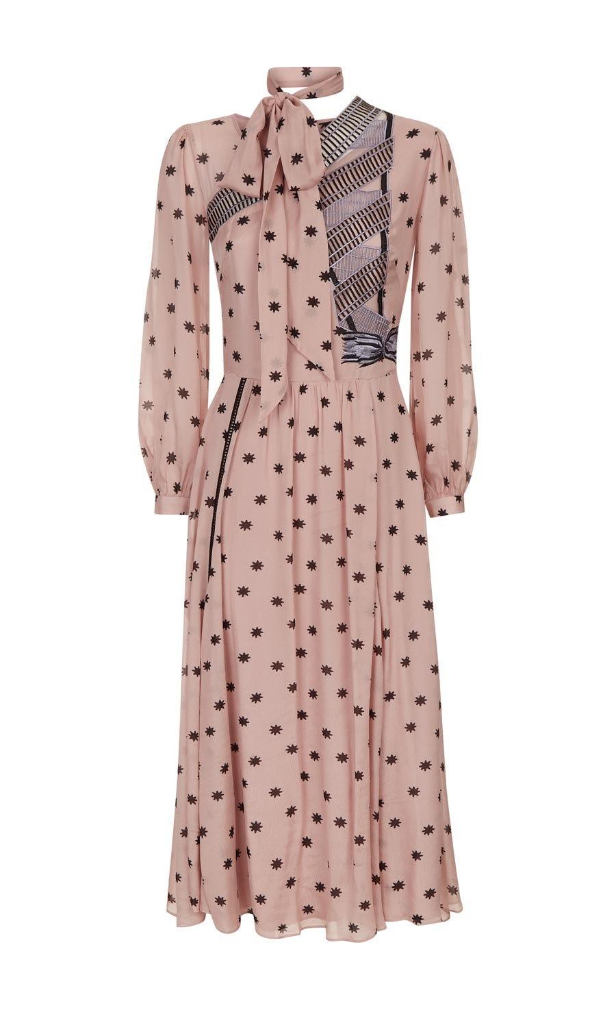 Storm Scarf Dress