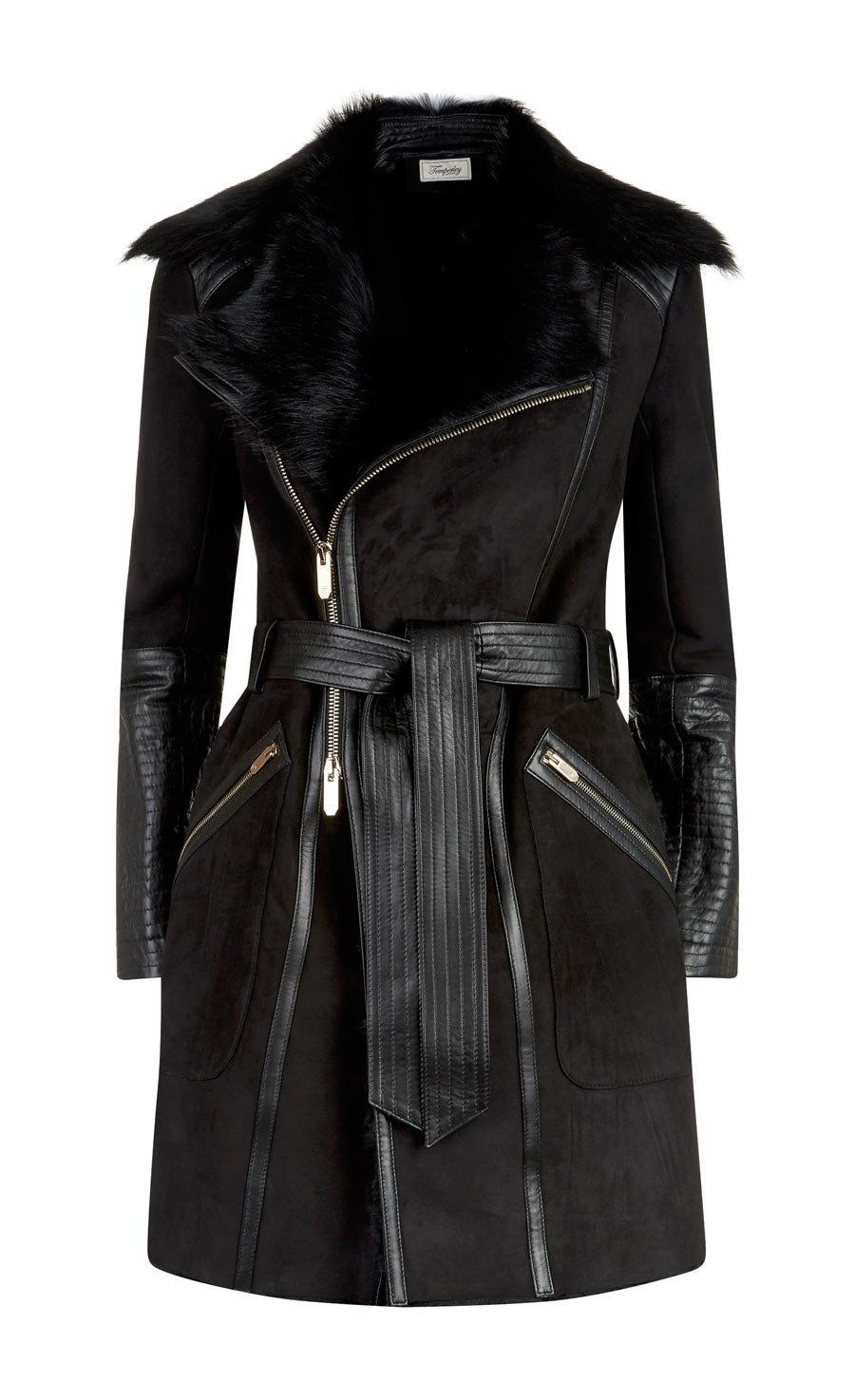 Mila Sheepskin Coat