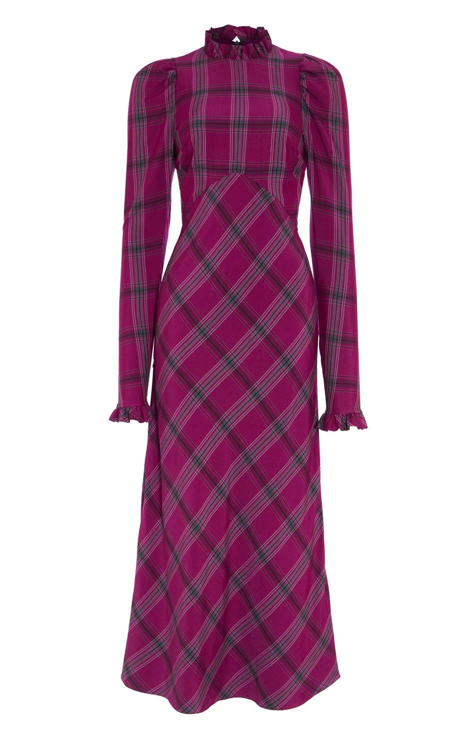 Isobel Check Dress