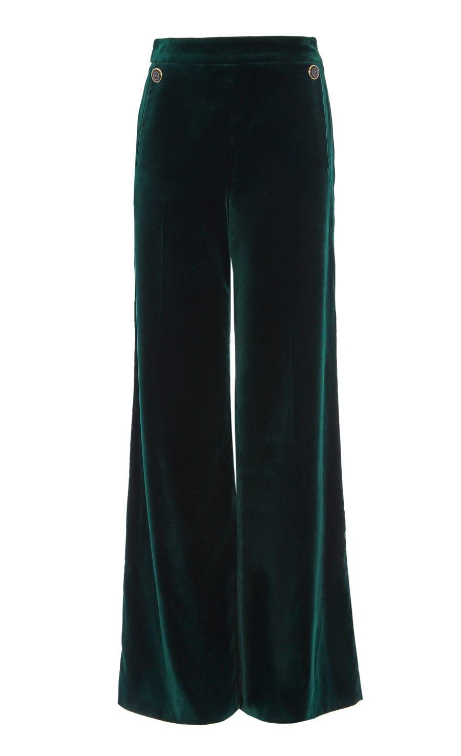 Clove Velvet Trousers