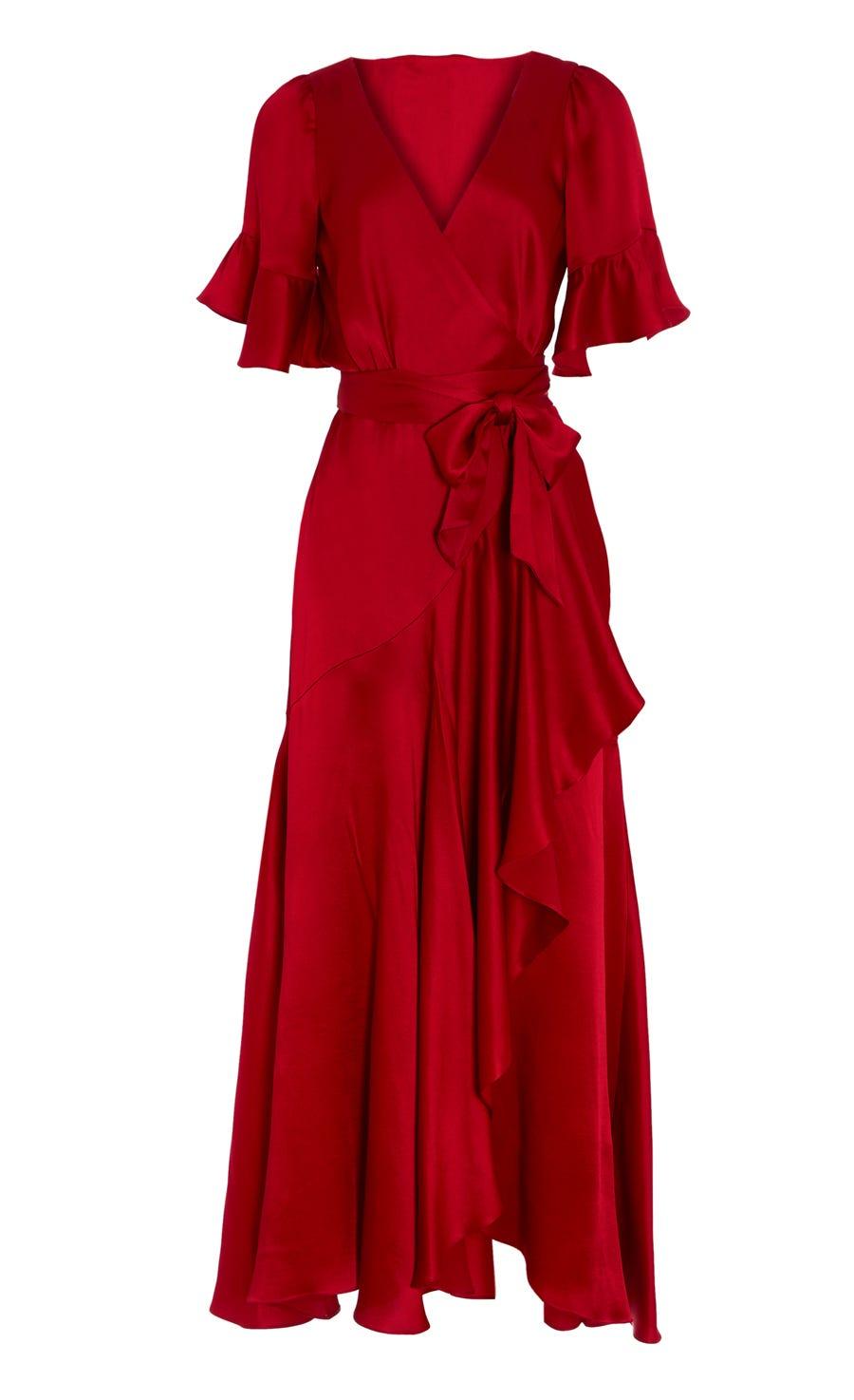 Grace Wrap Dress