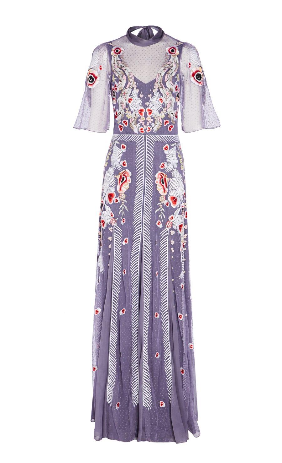Firebird Long Dress