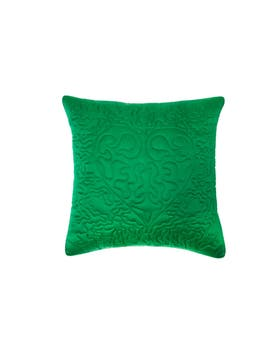 Escher Satin Embroidered Cushion