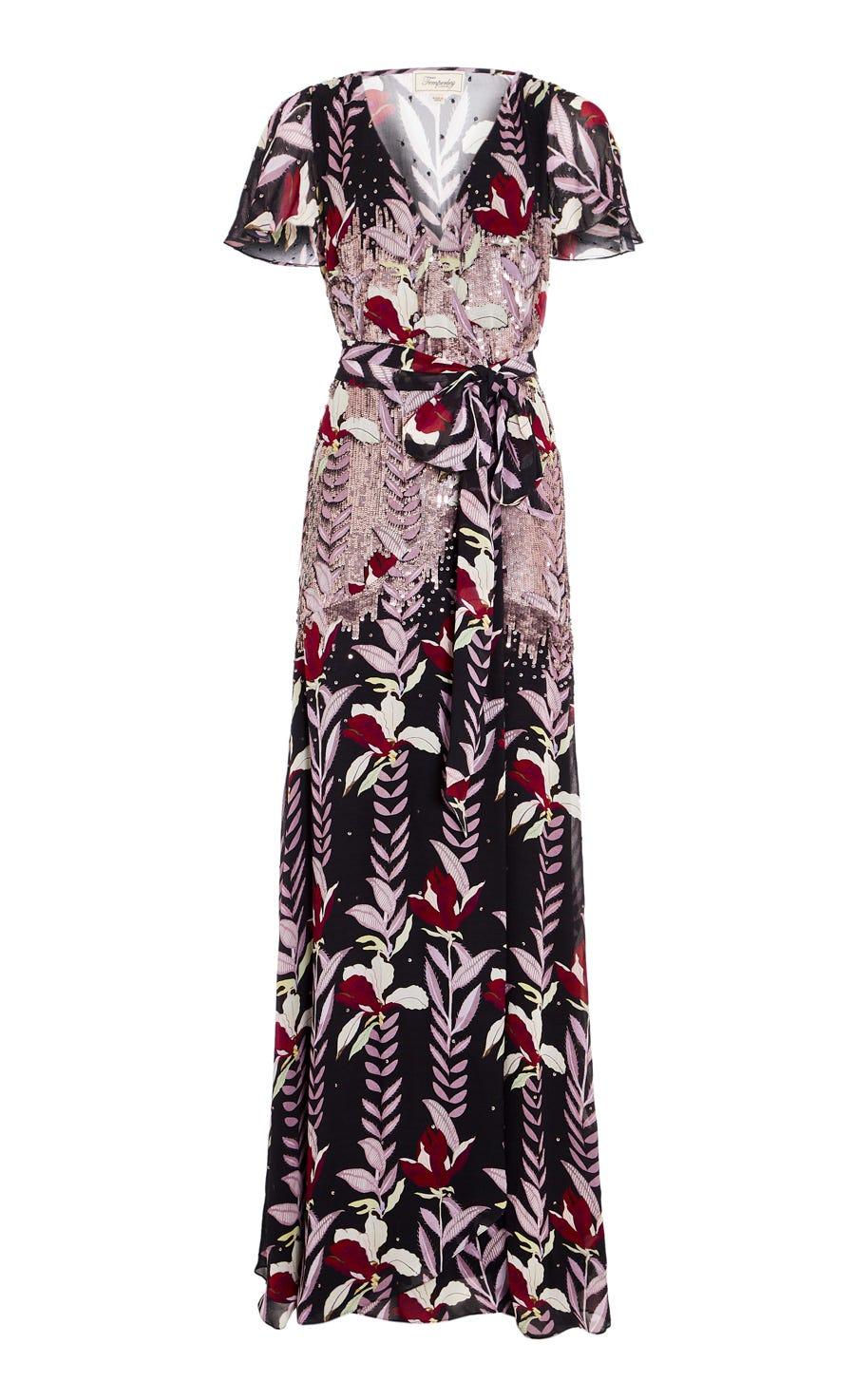 Bellflower Wrap Dress