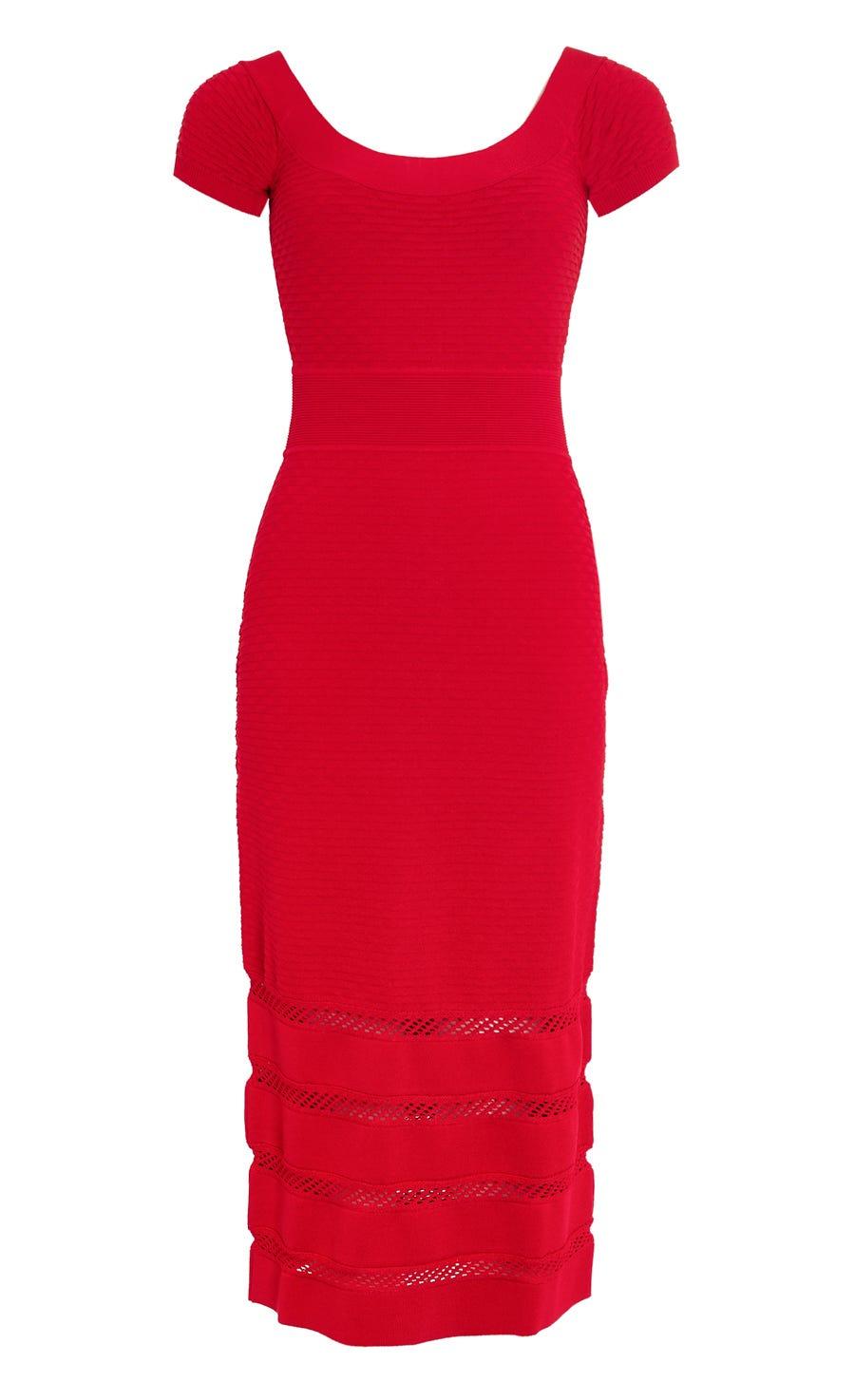 Kasha Knit Dress