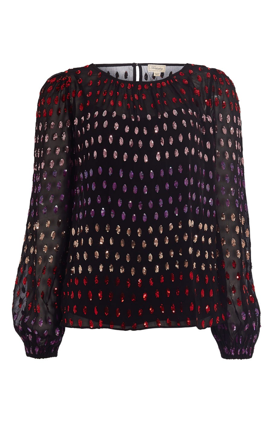 Wendy Sequin Blouse