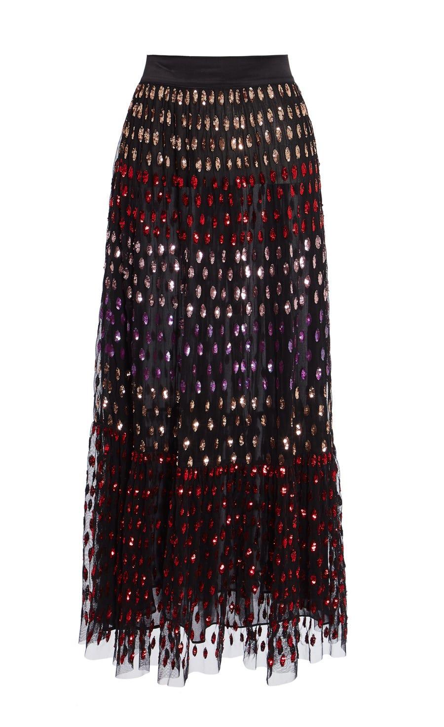 Wendy Sequin Skirt