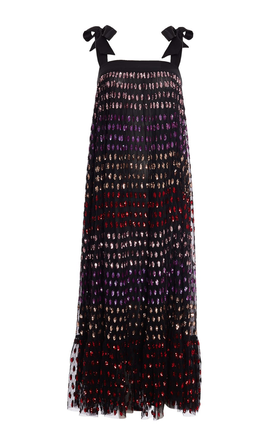 Wendy Sequin Tie Dress