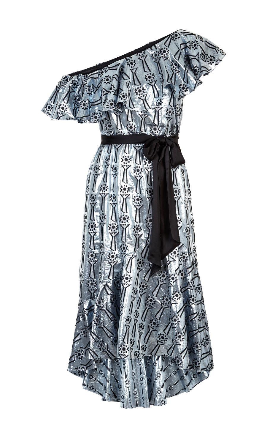 Eliska Ruffle Dress