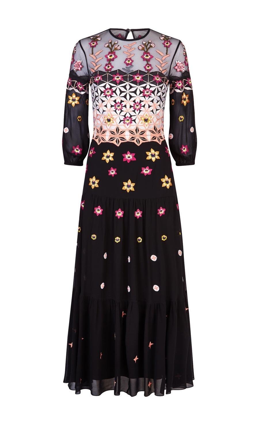 Finale Bowtie Midi Dress
