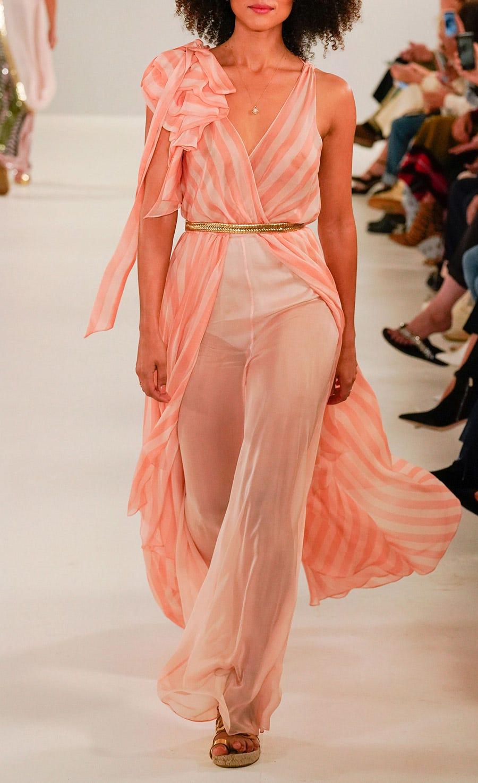 Linden Stripe V-neck Dress