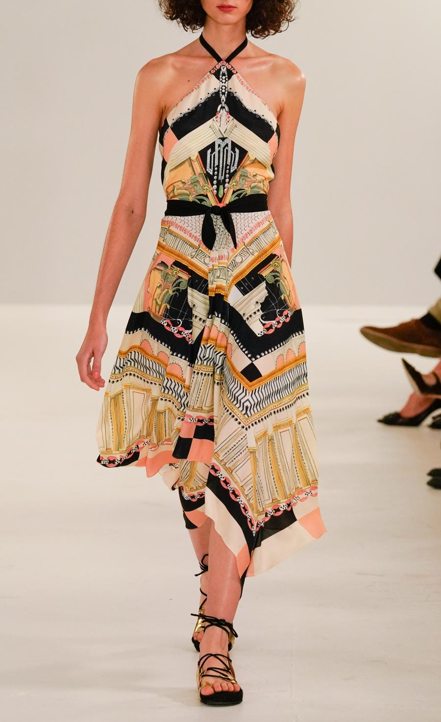 Obelisk Halter Dress