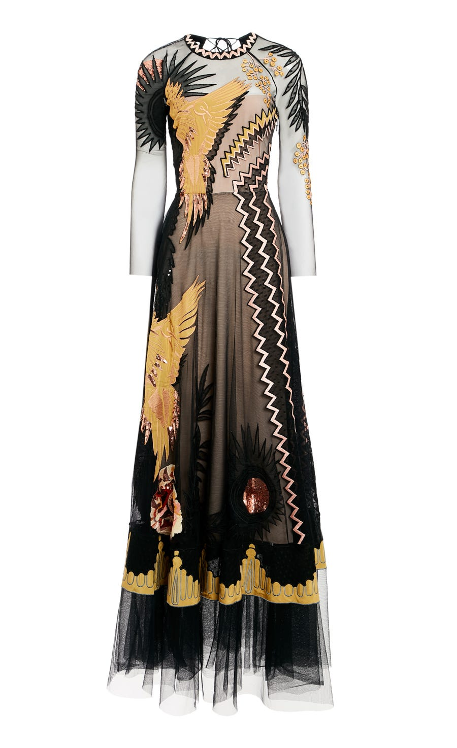 Opera Sleeved Gown