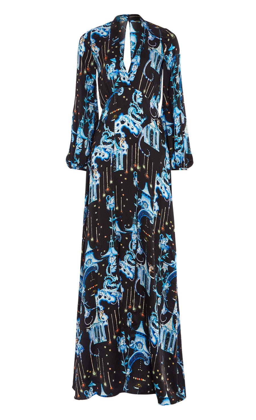Euphoria Sleeved Gown