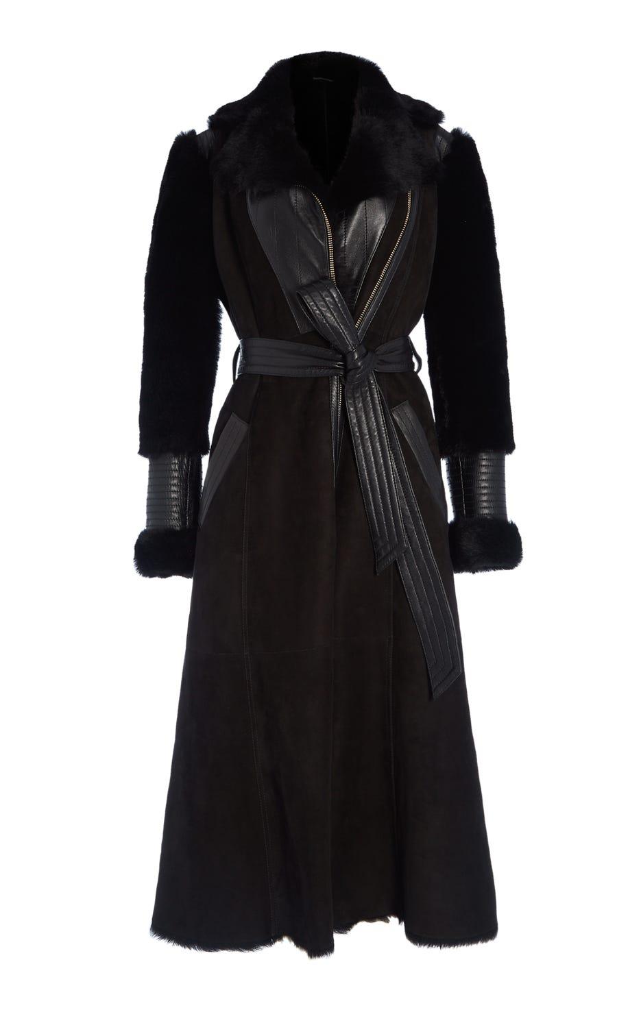 Saskia Shearling Coat
