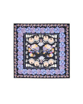 Nora Printed Floral Square Scarf