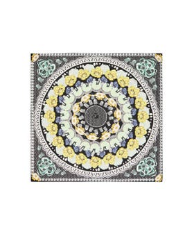 Nora Printed Lace Square Scarf