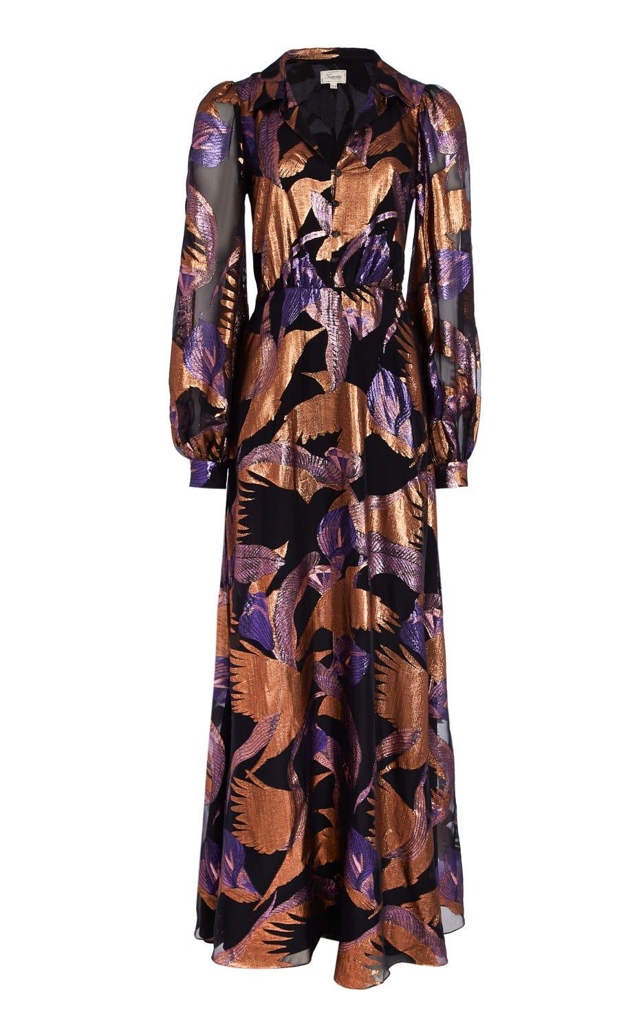 Kitty Filcoupé Button Dress