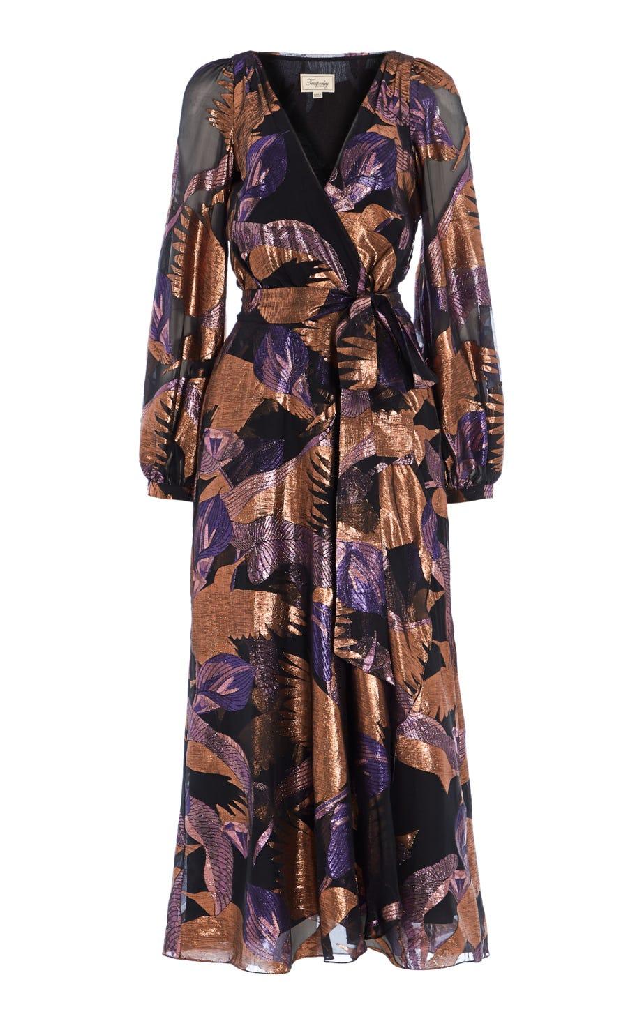 Kitty Filcoupe Wrap Dress