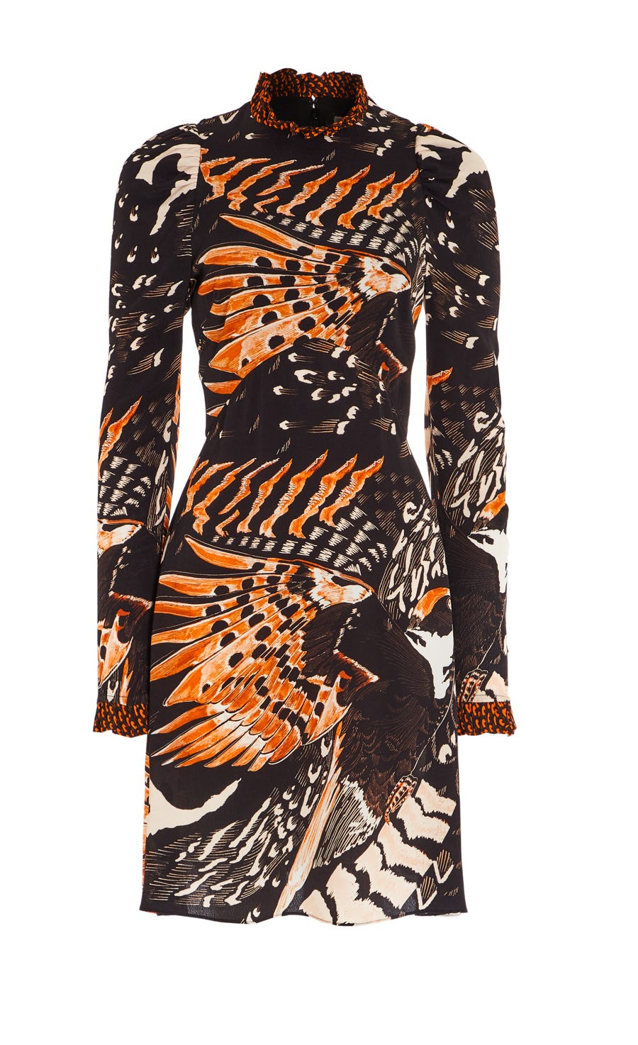 Rosella Bird Mini Dress