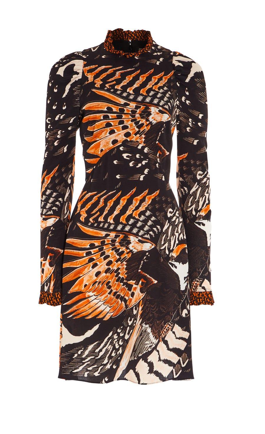 Rosella Bird Mini Dress