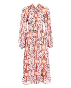 Etoile Printed Twist Dress