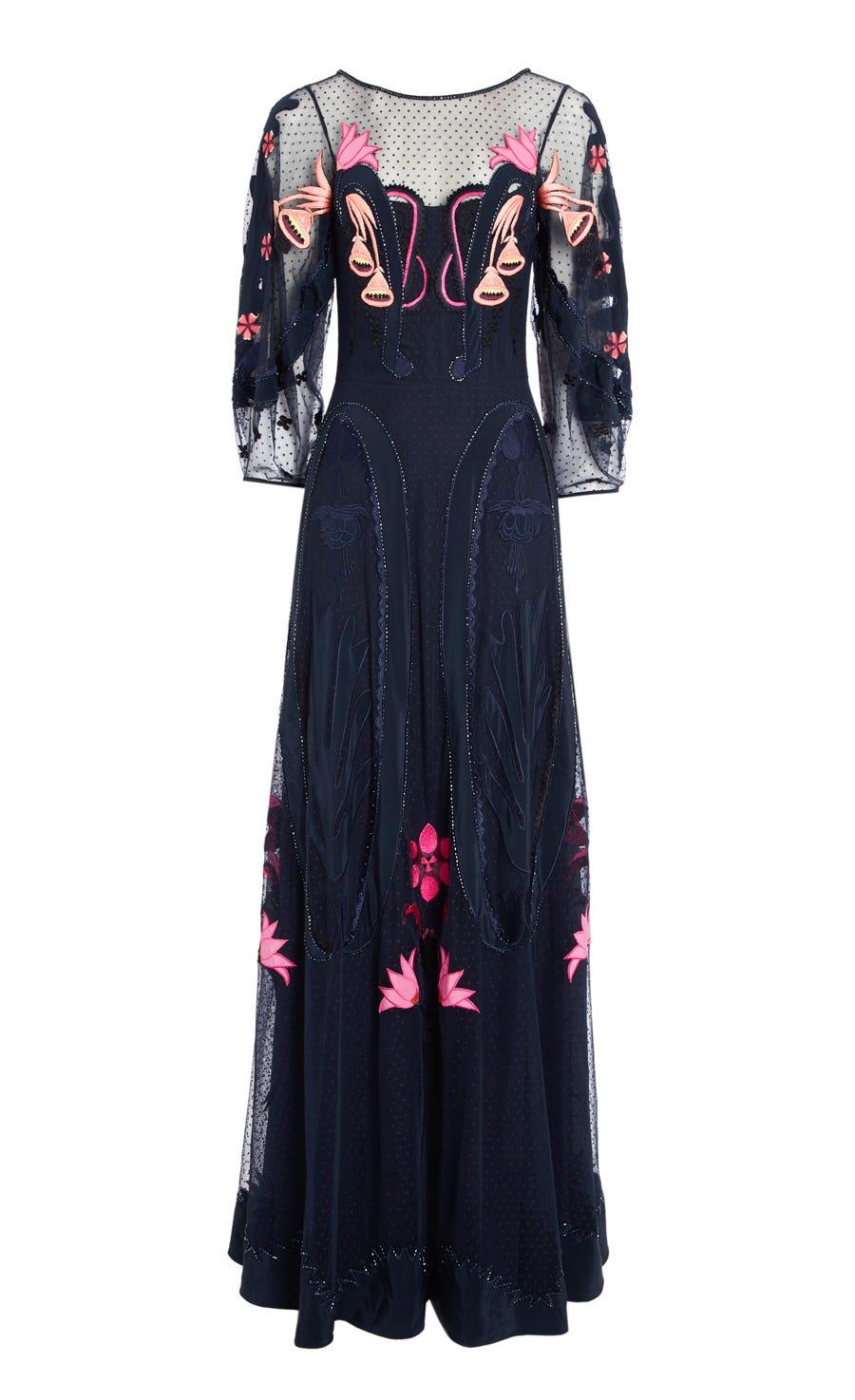 Florette Long Dress