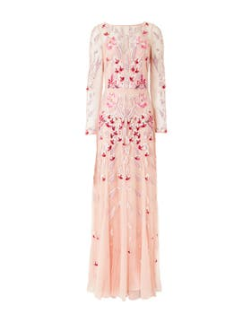 Pardus Sleeved Gown