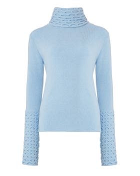 Honeycomb Knit Jumper