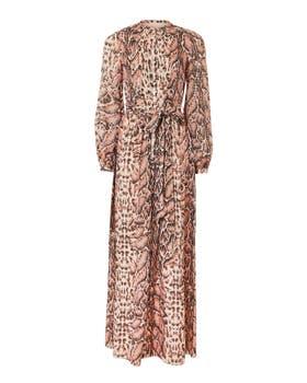 Ocelot Print Dress