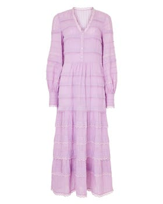 Edith V-neck Dress