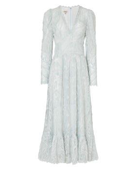 Twiggy Lace V-neck Dress
