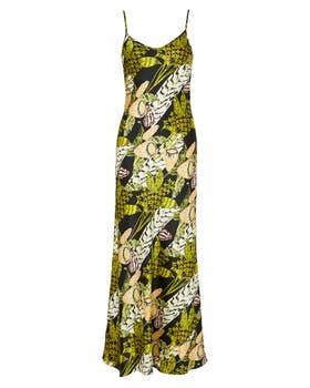Elpis Printed Slip Dress